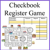 Checkbook Register Money Math Game