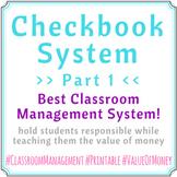 Checkbook System Part 01