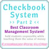 Checkbook System Part 02