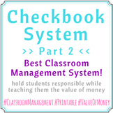 Checkbook System Part 02