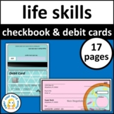 Checkbook and Debit Cards Printable
