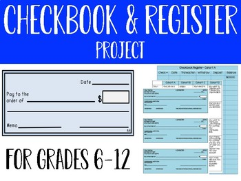 Checkbook and Register Project
