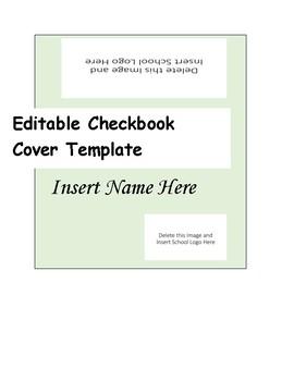 Checkbook and Registrar Reading Log