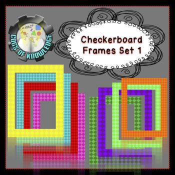 Checker Frames Set 1 (FREEBIE)
