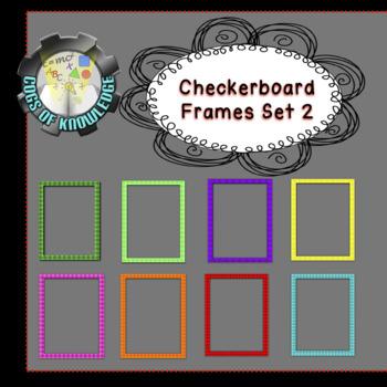 Checker Frames Set 2 (FREEBIE)