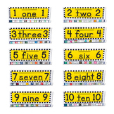 Checker Number GrandStand Packet 1-10