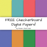 FREE Checkerboard Digital Papers