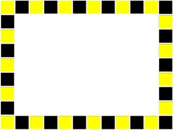 Checkerboard Frames Basic Colors