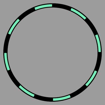 Checkerboard Frames and Borders Clip Art Bundle