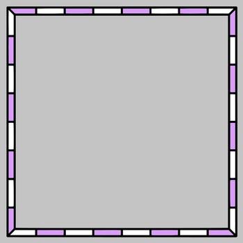 Checkerboard Frames clipart - Bundle 2