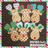 Checkerboard Reindeer Craft