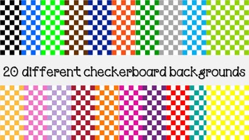 Checkerboard backgrounds