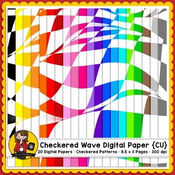 Checkered Pattern Paper  {CU FREEBIE}