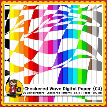 Checkered Pattern Paper  {CU FREEBIE}