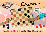 Checkers - An Animated How to Play Resource - Regular