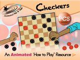 Checkers - Animated How to Play Resource - PCS