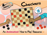 Checkers - Animated How to Play Resource - SymbolStix