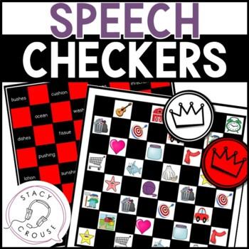 Speech Checkers: An Articulation Game