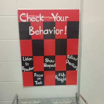 Checkers Classroom Rules