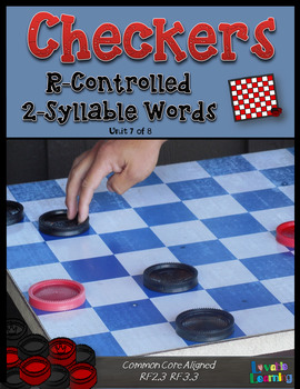 Checkers: R Controlled 2-Syllable Words