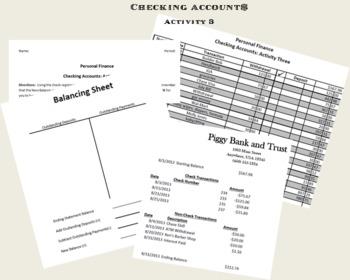Checking Accounts Activity 3