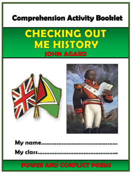 Checking Out Me History Comprehension Activities Booklet!