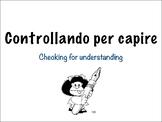 Checking for understanding digital cards.