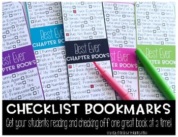 Checklist Bookmarks