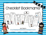 Checklist Bookmarks (Proofreading, Close Reading, Writing