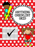 Checklist Grid Template