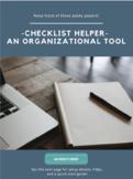Checklist Helper