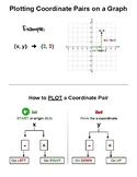 Checklist - Plotting Coordinate Pairs