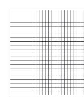 Checklist (blank)