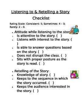 Checklist for Literature