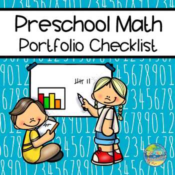 Checklist for Preschool Portfolio:  Math
