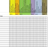 Checklist of Concepts in Each Unit - 7th Grade Math Common Core