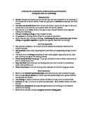 Checklist of Reading Strategies for Students