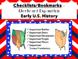 Checklists/Bookmarks-Westward Expansion