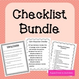 Checklists Bundle