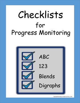 Checklists for Progress Monitoring