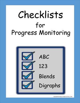 Checklists for Progress Monitoring