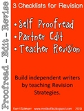 Checklists for Revision