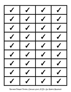 Checkmark Boxes