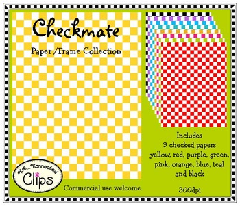 Checkmate Doodle Frames and Paper Collection