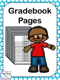 Gradebook Pages | Grading Pages | Checkoff List for Grade Books