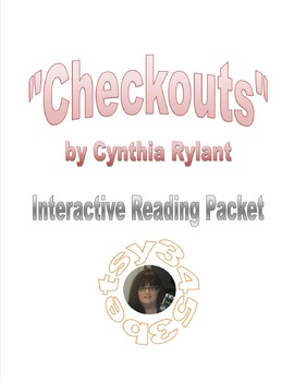 """""""Checkouts"""" Interactive Worksheet"""