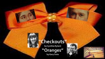 Checkouts [Rylant] & Oranges [Soto] 5-Day Lesson Plan (Common Core Aligned)