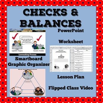 Checks & Balances: Lesson Plan, PowerPoint, Smartboard
