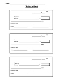 Writing a Check Template