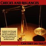 Checks and Balances